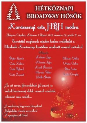 Karácsonyi este HBH módra